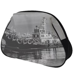 Tugboat At Port, Montevideo, Uruguay Full Print Accessory Pouch (big) by dflcprintsclothing