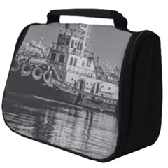 Tugboat At Port, Montevideo, Uruguay Full Print Travel Pouch (big)