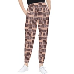 Brick Terra Cotta Tapered Pants