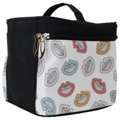 Happy Doodle Laugh Make Up Travel Bag (big) by tmsartbazaar