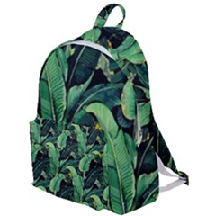Night Tropical Banana Leaves The Plain Backpack by goljakoff