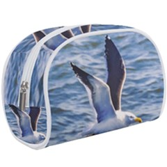 Seagull Flying Over Sea, Montevideo, Uruguay Makeup Case (large)