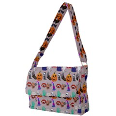 Halloween Full Print Messenger Bag (l)
