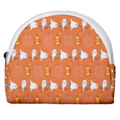 Halloween Horseshoe Style Canvas Pouch