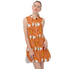 Halloween Sleeveless Shirt Dress by Sparkle