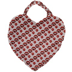 Halloween Giant Heart Shaped Tote