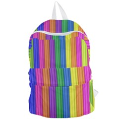 Colorful Spongestrips Foldable Lightweight Backpack