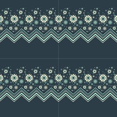 Floral-geometric  Ornament by FloraaplusDesign
