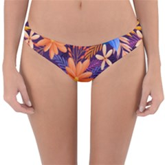 Colourful Print 5 Reversible Hipster Bikini Bottoms