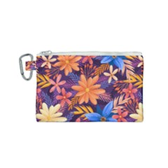 Colourful Print 5 Canvas Cosmetic Bag (small)