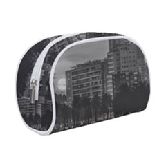 Sunset Coastal Urban Scene, Montevideo, Uruguay Makeup Case (small) by dflcprintsclothing