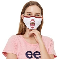Say Ahh! Monster Mouth Fitted Cloth Face Mask (adult) by AomojiKeiFashion