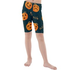 Halloween Kids  Mid Length Swim Shorts by Sobalvarro