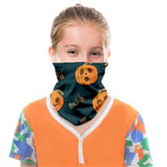 Halloween Face Covering Bandana (kids) by Sobalvarro