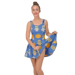 Halloween Inside Out Casual Dress