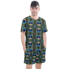 Mo 655 18 Men s Mesh Tee And Shorts Set