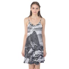 Fitz Roy And Poincenot Mountains, Patagonia Argentina Camis Nightgown by dflcprintsclothing
