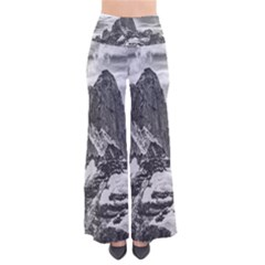 Fitz Roy And Poincenot Mountains, Patagonia Argentina So Vintage Palazzo Pants