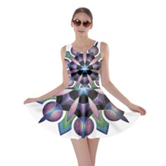 Highly Intuitive Skater Dress by idjy