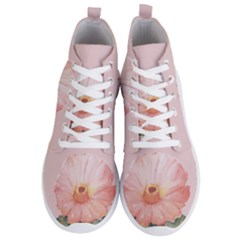 Rose Cactus Men s Lightweight High Top Sneakers by goljakoff