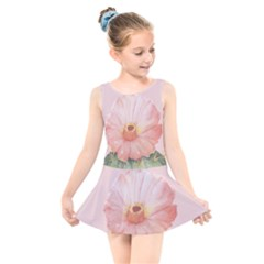 Rose Cactus Kids  Skater Dress Swimsuit by goljakoff