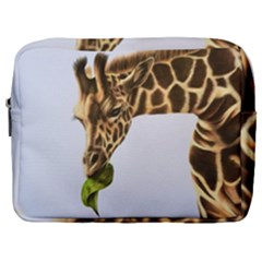 Giraffe Make Up Pouch (large) by ArtByThree