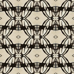 Black Grey, Decorative Abstract Pattern by FloraaplusDesign
