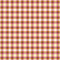 Tartan, Red-green Plaid, Decorative Pattern by FloraaplusDesign