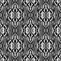 Gray Ethnic Ornament by FloraaplusDesign