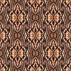 Brown Ethnic Ornament by FloraaplusDesign