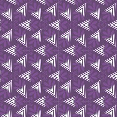 Purple Abstract Decorative Pattern  by FloraaplusDesign