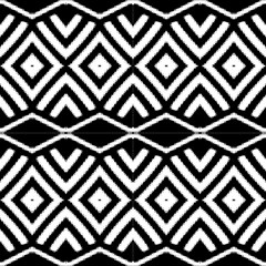 Black White Aztec by FloraaplusDesign