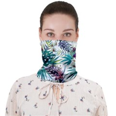 Tropical Flowers Face Covering Bandana (adult)
