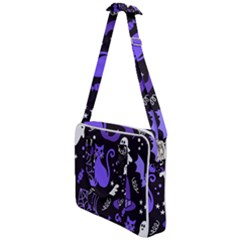 Halloween Party Seamless Repeat Pattern  Cross Body Office Bag by KentuckyClothing