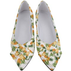 Tropical Pineapples Women s Bow Heels by goljakoff