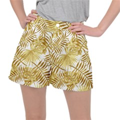 Golden Leaves Ripstop Shorts by goljakoff