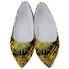 Gold Leaves Women s Low Heels by goljakoff