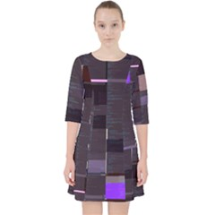 Switchboardop Asciiscr0ll s Sketch-js Glitch Code Dress With Pockets by HoldensGlitchCode