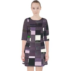 Ajaxm Multiverse s Poem-rb Glitch Code Dress With Pockets