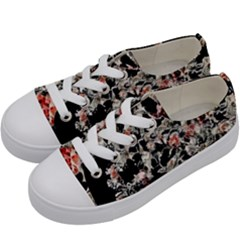 Like Lace Kids  Low Top Canvas Sneakers by MRNStudios
