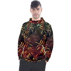 Tropical Leaves Men s Pullover Hoodie by goljakoff