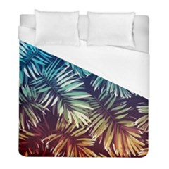 Tropic Leaves Duvet Cover (full/ Double Size) by goljakoff