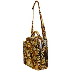 Golden Leaves Crossbody Day Bag by goljakoff