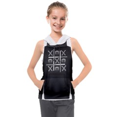Tic Tac Monster Kids  Sleeveless Hoodie by TheFanSign