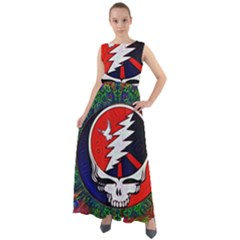 Grateful Dead - Chiffon Mesh Boho Maxi Dress