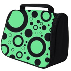 Circle Party Collection - Dragon Green & Black Full Print Travel Pouch (big)