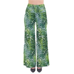 Green Leaves So Vintage Palazzo Pants