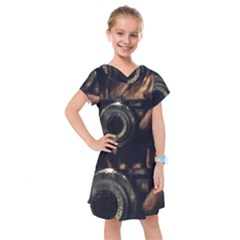 Creative Undercover Selfie Kids  Drop Waist Dress