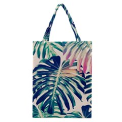 Monstera Leaf Classic Tote Bag