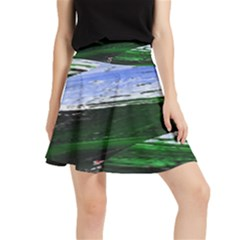 Color Twist Waistband Skirt by Lotus